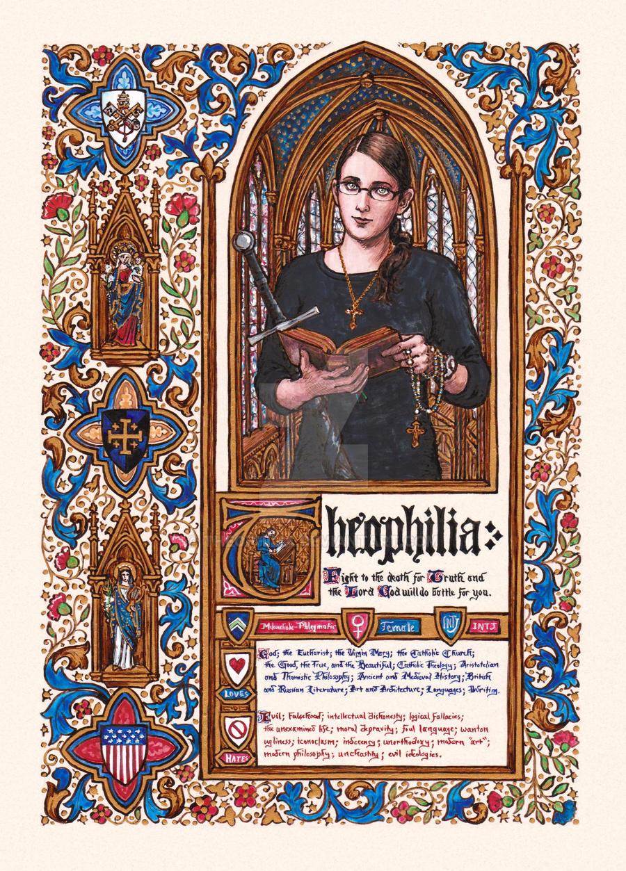 Theophilia - Meet the Artist Meme