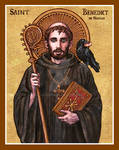 St. Benedict of Nursia icon