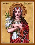 St. Philomena icon