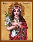 St. Philomena icon