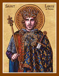 St. Louis of France icon
