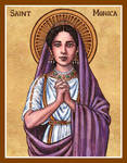 St. Monica icon