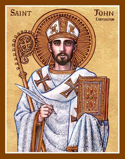 St. John Chrysostom icon by Theophilia on DeviantArt