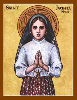 St. Jacinta Marto icon