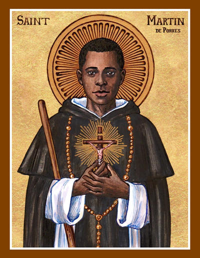 St Martin De Porres Icon By Theophilia On Deviantart