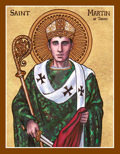 St. Martin of Tours icon