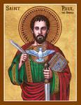 St. Paul the Apostle icon