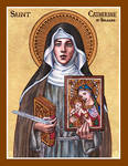 St. Catherine of Bologna icon