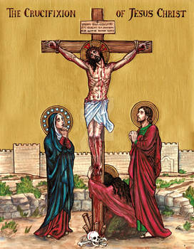 The Crucifixion of Jesus Christ icon