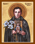 St. Gabriel Possenti of Our Lady of Sorrows icon