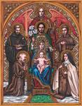Seefeldt Family Patron Saints Icon