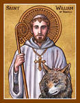 St. William of Vercelli icon