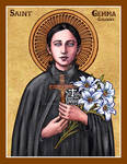 St. Gemma Galgani icon