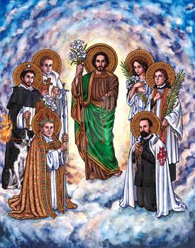 St. Joseph and Saints