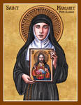 St. Margaret Mary Alacoque icon