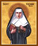 St. Katharine Drexel icon
