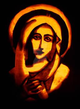 Virgin Mary - Pumpkin
