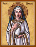 St. Martha icon