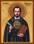 St. Ignatius of Loyola icon