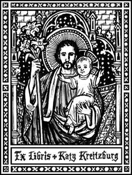 St. Joseph bookplate