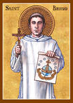 St. Bruno icon