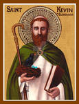 St. Kevin of Glendalough icon