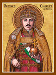 Blessed Charles of Austria icon
