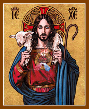 Christ the Good Shepherd icon