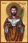 St. Valentine of Rome icon