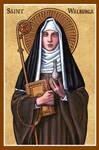St. Walburga icon