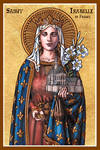 St. Isabelle of France icon