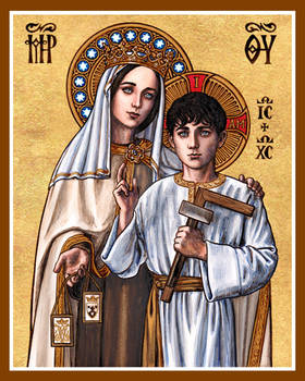 Our Lady of Mt. Carmel with the Boy Jesus