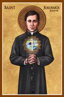 St. Josemaria Escriva icon