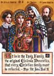 Holy Family - Wedding Holy Card