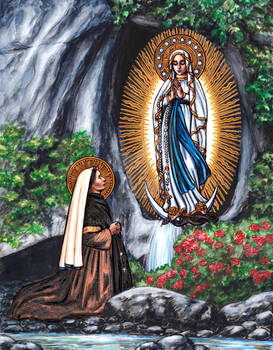 St. Bernadette and Our Lady of Lourdes