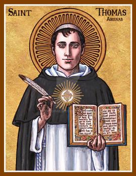 St. Thomas Aquinas icon II