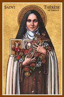 St. Therese of Lisieux icon