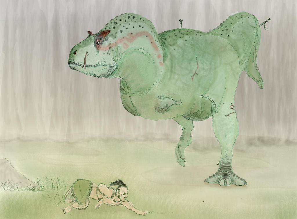 Carnotaurus - The Stomping Land by Dannyp96 on DeviantArt