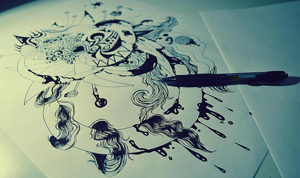 abstract drawing by LinaLinka on DeviantArt