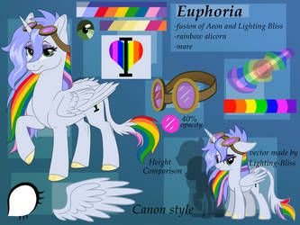 Euphoria - ref - raffle prize by MythPony