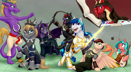 Questrians by MythPony