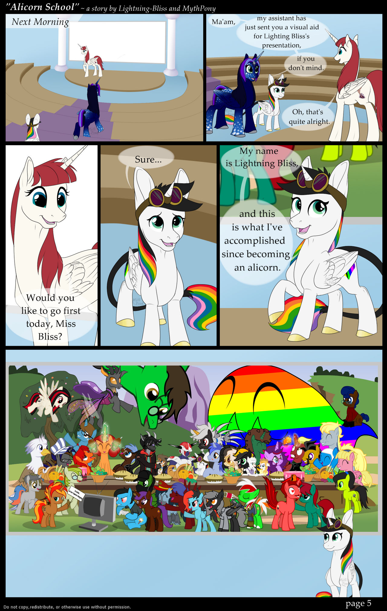 Alicorn School - page 5