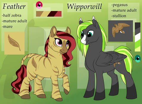 Wipporwill and Feather - ref