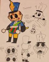 Trommel the drummer boy (old profile) by CinderHollow13
