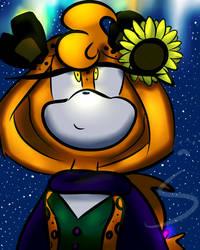 Gift: Sunflower by CinderHollow13
