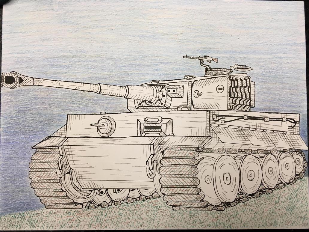 Tiger Tank by P72-Deltacommander