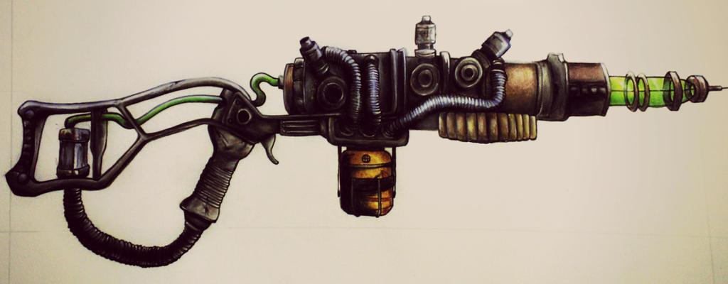 Fallout Plasma Rifle by GinnieGii