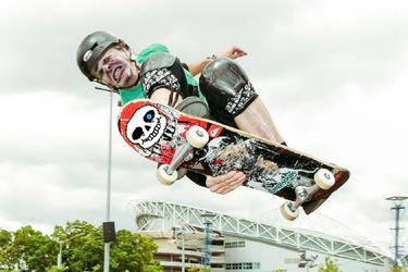 the skater boy by Symbiote-God
