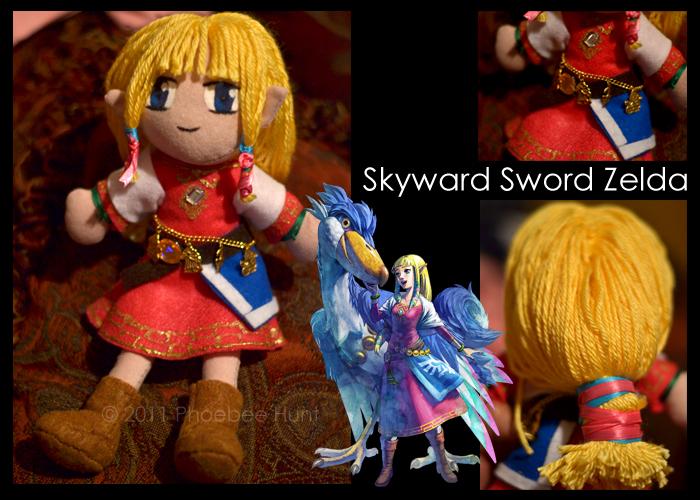 Skyward Sword Zelda Plushie by Xandyr