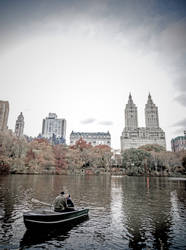Boat at Central Park, NYC by mnjul